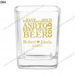 wedding party shot glasses personalised 064