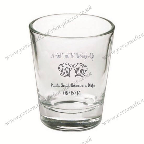 hot sale personalized shot glasses