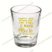 newest personalized shot glasse