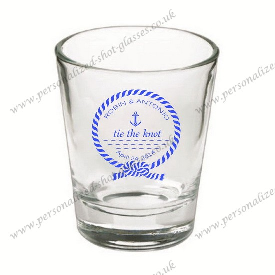glassware wholesale shot glass printed