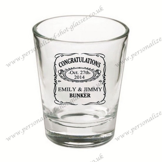 unique cheap personalized shot glasses