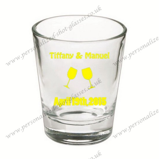 new designed personalized shot glasses