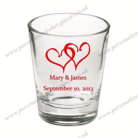 wholesale custom shot glasses personalized for wedding