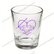unique decorative handmade personalized shot glass