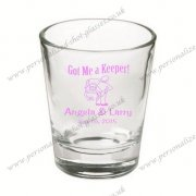 Wedding shot glasses for lover