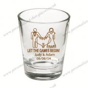 sales shot glass personalized f