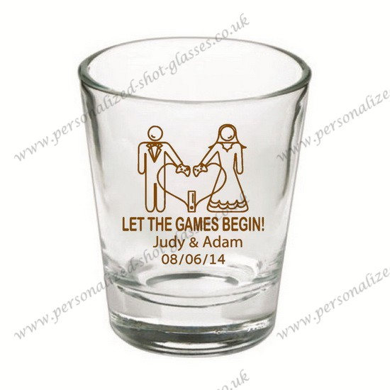 sales shot glass personalized for wedding
