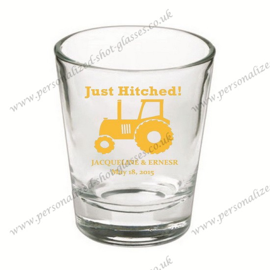 hot selling personalized shot glass wedding gift