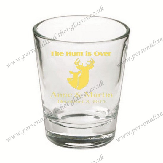 customized souvenir wedding decorative shot glass