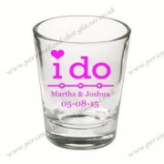 drink glassware shot glass for wedding