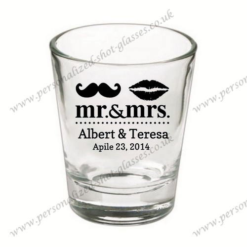 wedding celebrating wine shot glass low price