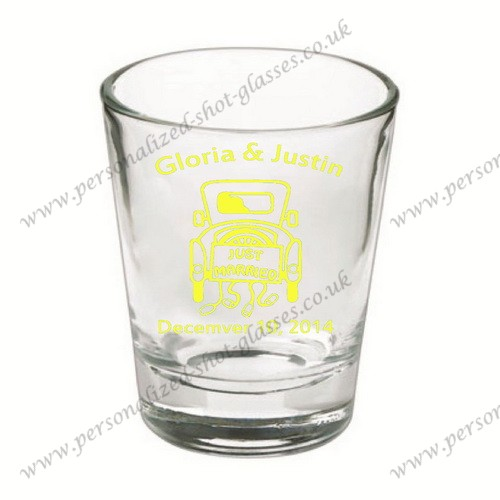 customized party shot glass on sale