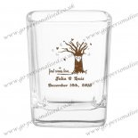 Custom Glassware Manufacturer square shot glasses 006