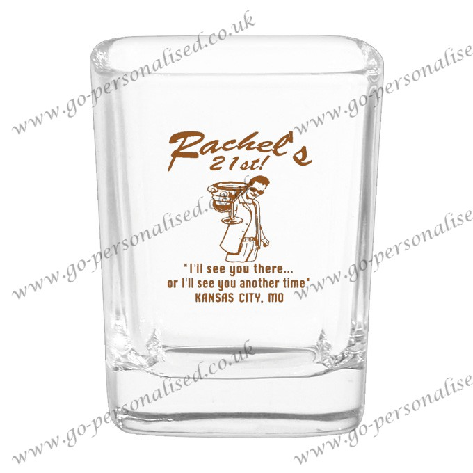 Custom Shot Glasses UK Drinking Cup Glasses 010
