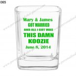 personalised shot glasses wedding gift 065