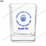 wholesale price decorative shot glasses 067