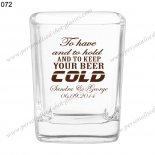 promotion personalized wedding gift shot glass 072