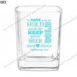 wedding gift personalized shot glasses 083