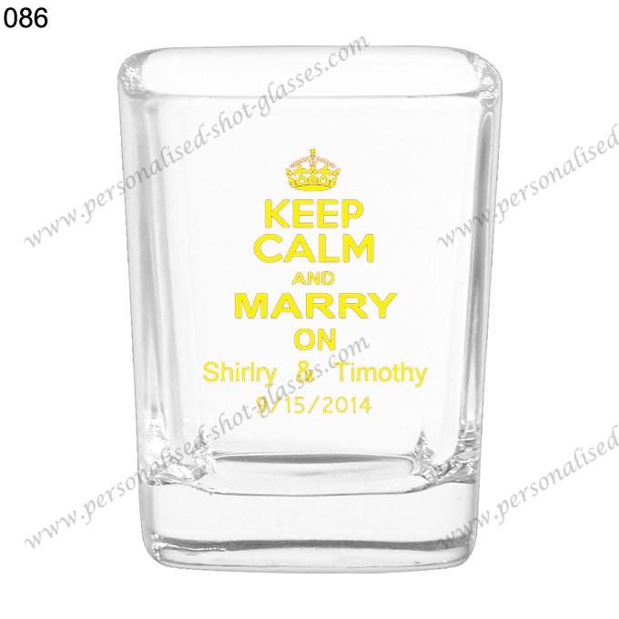 wholesale high quality shot glass 086