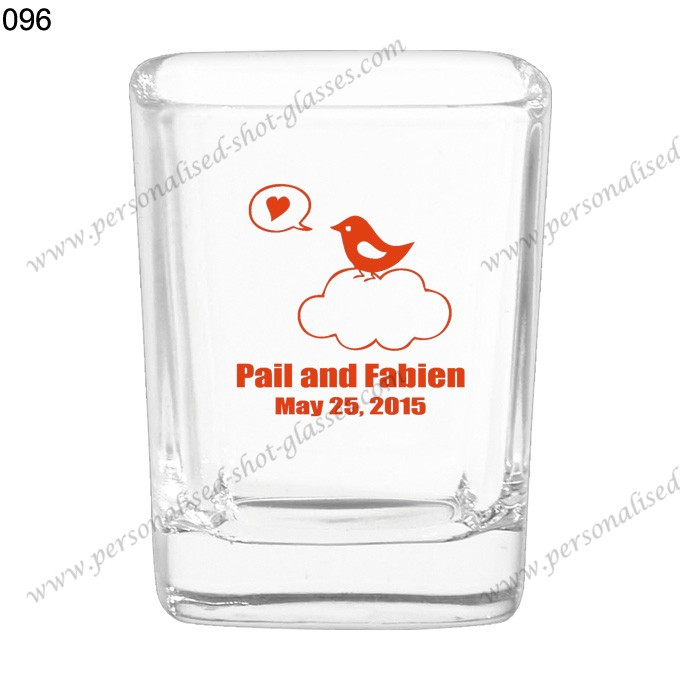 new product wedding drinking shot glass 096